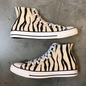 Converse Chuck Taylor Hi Top Canvas Zebra